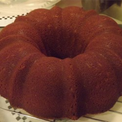 Chocolate Pound Cake II Recipe