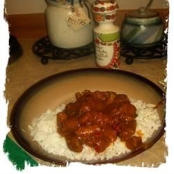 Curry Coconut Chicken