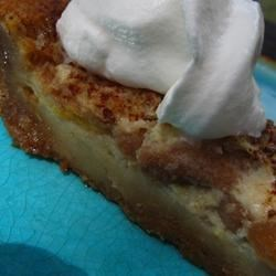 Peach Custard Pie II Recipe