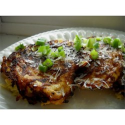 Kicked-Up Potato Pancakes Recipe