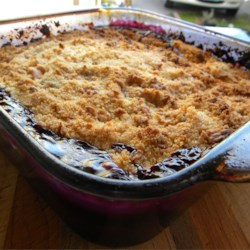 Peach and Blueberry Cobbler Recipe