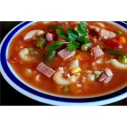 After the Holidays Ham Bone Soup Recipe