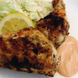 Grilled Lemon Yogurt Chicken Recipe