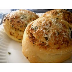 Photo of Garlic and Parmesan Dinner Rolls by Chef John