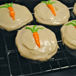 Carrot Pineapple Cupcakes Recipe