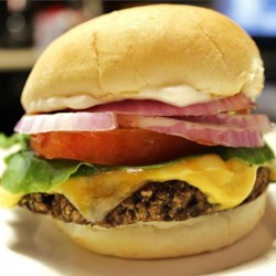 Homemade Black Bean Veggie Burgers |