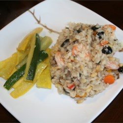 Prawn and Pine Nut Risotto