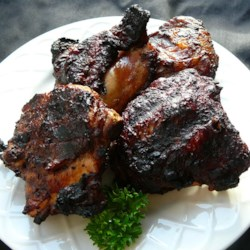 Blackened Cinnamon BBQ Chicken