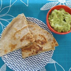 Vegan Black Bean Quesadillas