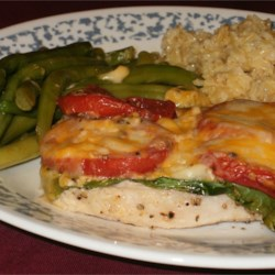 Pork Chops with Tomatoes and String Beans Recipe