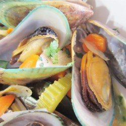 Mussels (Not from Brussels, but Belgian Anyway) Recipe