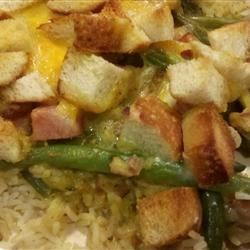 Ham and Green Bean Casserole Recipe