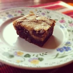 Peanut Butter Brownies II Recipe