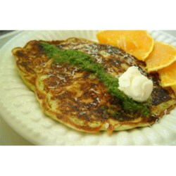 Pesto Pancakes Recipe