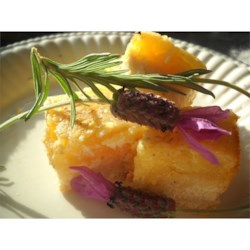 Photo of Lavender Lemon Bars by AngelaD74