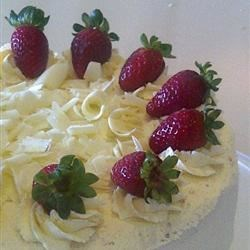 Photo of Light Strawberry Layer Cake  by essensual911