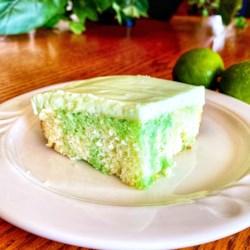 Tudy's Key Lime Pie Poke Cake