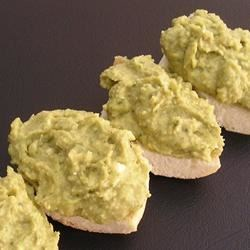 Photo of Basil and Pesto Hummus by fantastic dan