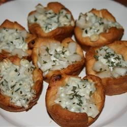 Blue Cheese and Pear Tartlets Recipe