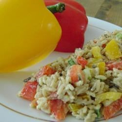 Wild Rice and Pepper Salad Recipe