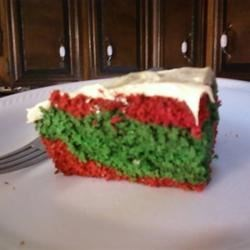 Red and Green Velvet Cake!
