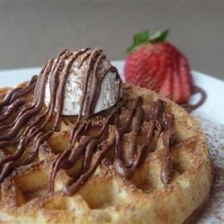Quick Gourmet Waffle Breakfast