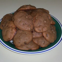 Absolutely Sinful Chocolate Chocolate Chip Cookies Recipe
