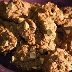 Eggless Chocolate Peanut Butter Cookies Recipe