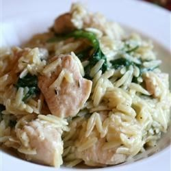 Photo of Garlic Chicken with Orzo Noodles by VBRAUER671