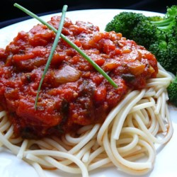 Stephanie's Freezer Spaghetti Sauce Recipe