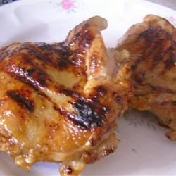 Honey-Lime Grilled Chicken Thigh