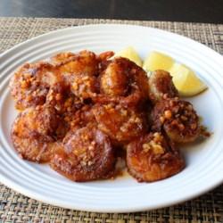 Hawaiian Garlic Shrimp Scampi