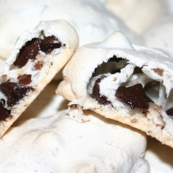 Chocolate Chip Meringue  Recipe