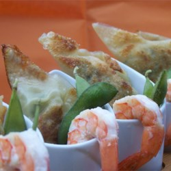 Shrimp and Edamame Dumplings Recipe