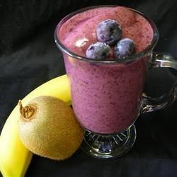 Very Berry Blueberry Smoothie Recipe