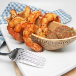 tex mex grilled shrimp and salsa printer friendly