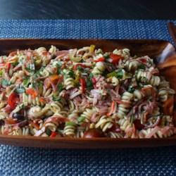 chef johns antipasto pasta salad printer friendly