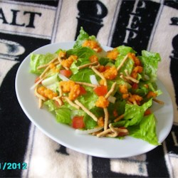Sushi House Salad Dressing, It's ORANGE!