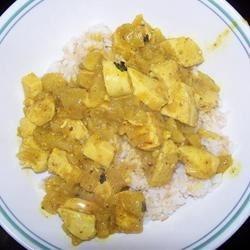 Chicken & Apple Curry