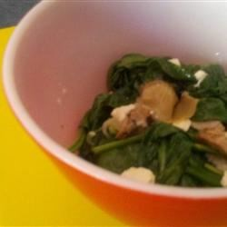 Photo of Hot Spinach and Artichoke Salad by EMLUCIA