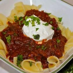 Smoked Paprika Goulash for the Slow Cooker