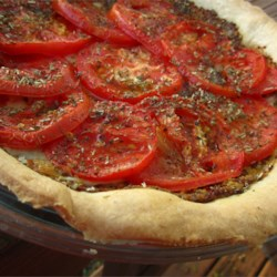 Tarte aux Moutarde (French Tomato and Mustard Pie) Recipe