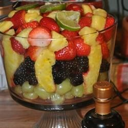 Fruit Bowl with Balsamic