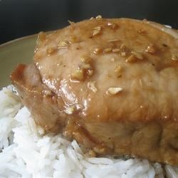 Pork Chops with Tangy Honey Sauce