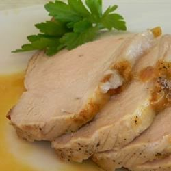 Maple-Brined Pork Loin Recipe