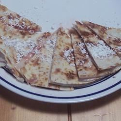Strawberry Cheesecake Quesadillas Recipe