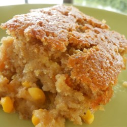 Snacks' Crazy Sweet Corn Pudding