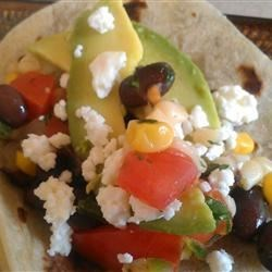Photo of Black Bean and Corn Vegetarian Summer Tacos by danabear