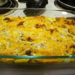 Egg and Sausage Casserole Recipe