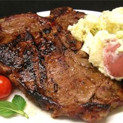 http://www.tasteofhome.com/Recipes/Garlic-Pepper-Tenderloin-Steaks